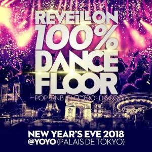 RÉVEILLON 100% DANCEFLOOR AU PALAIS DE TOKYO (YOYO)