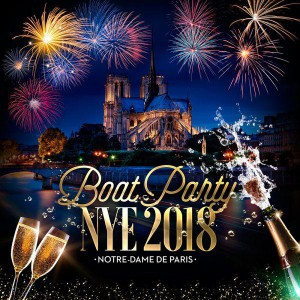 BOAT PARTY NYE 2018 « NOTRE-DAME DE PARIS »